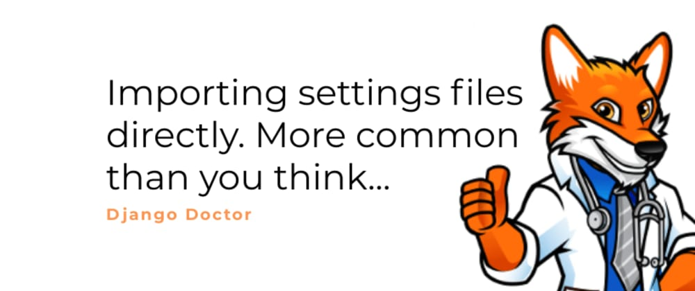Cover image for Importing settings files directly is more common than you think.