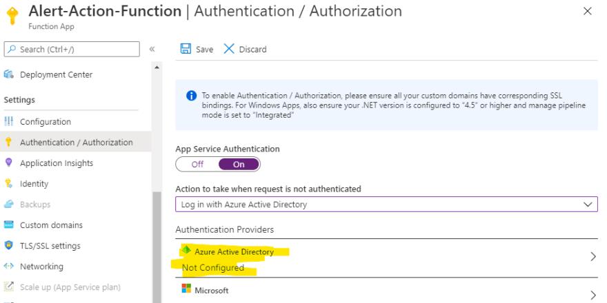 App Service Athentication config Part 2