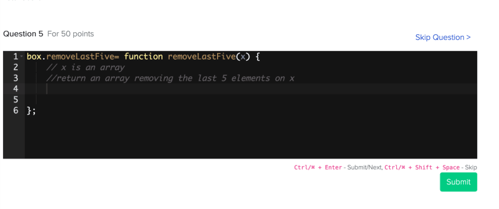 Cover image for Test your JavaScript level with a (fun) speed coding challenge at Toptal