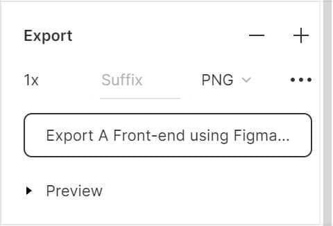 Export article card option
