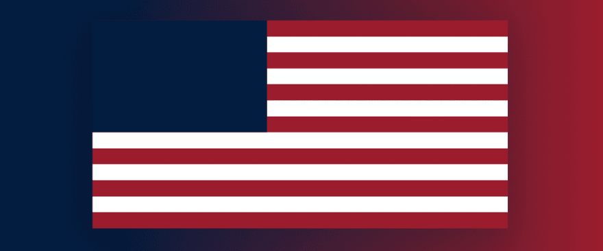 USA Star Background