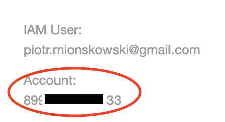 iam user vs account