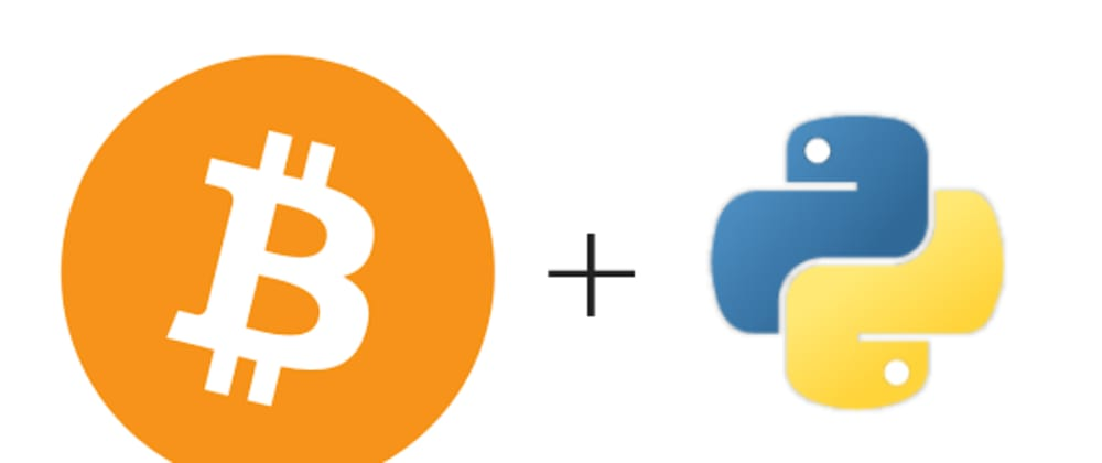 Cover image for Getting started with Bitcoin Using Python