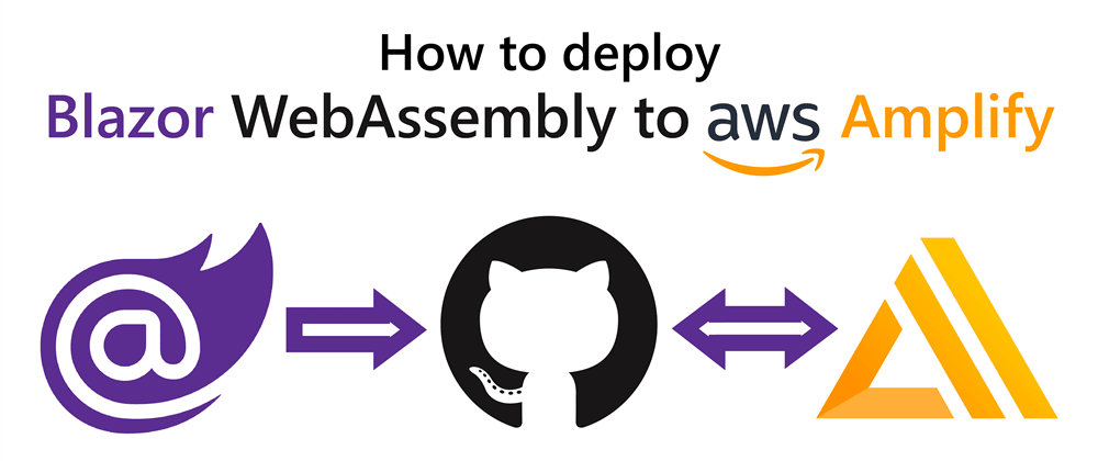 Cover image for How to deploy Blazor WebAssembly to AWS Amplify