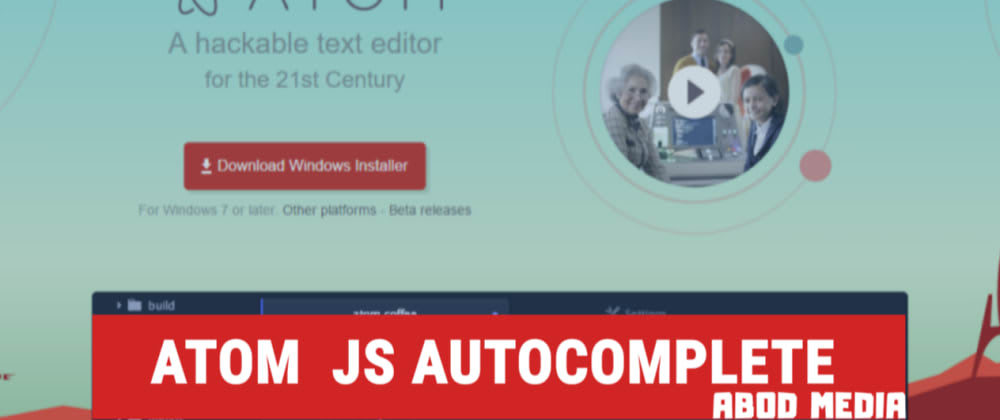 Cover image for Atom Autocomplete using ternjs for JS & all Dom selector plus JS frameworks and libraries like jquery,node,react.
