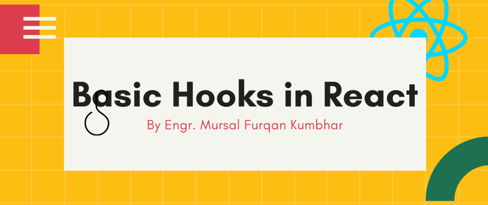 Cover image for Basic Hooks in React