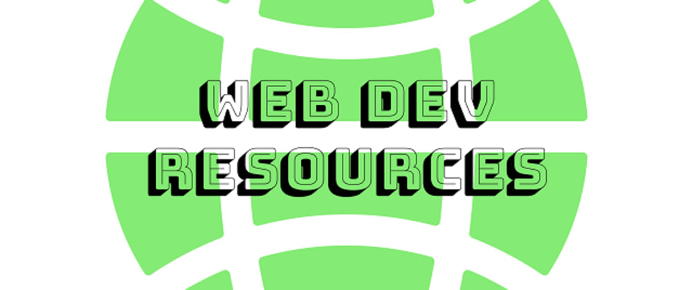 Cover image for Web Development Resources