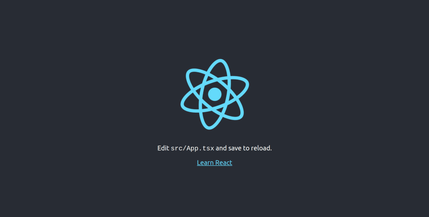 default create-react-app