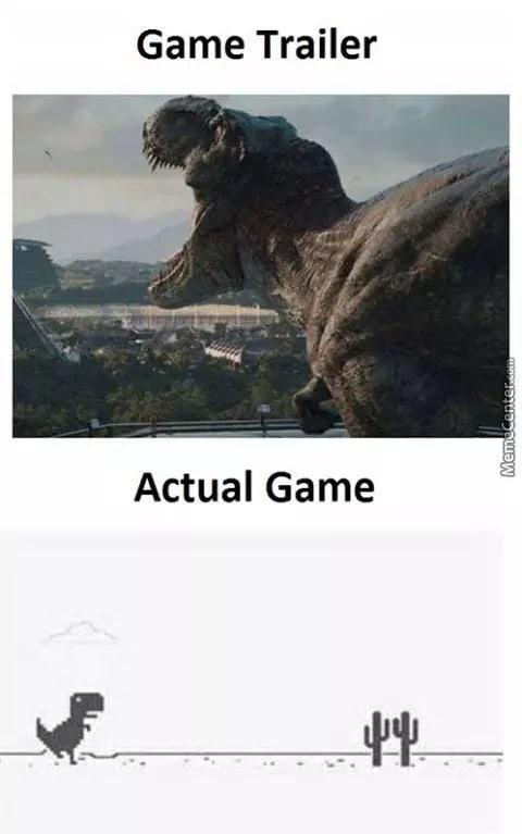 Trailer vs Game