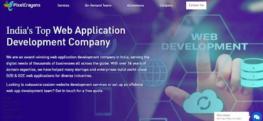 top web development company