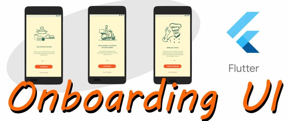 Cover image for Onboarding UI Screen em Flutter