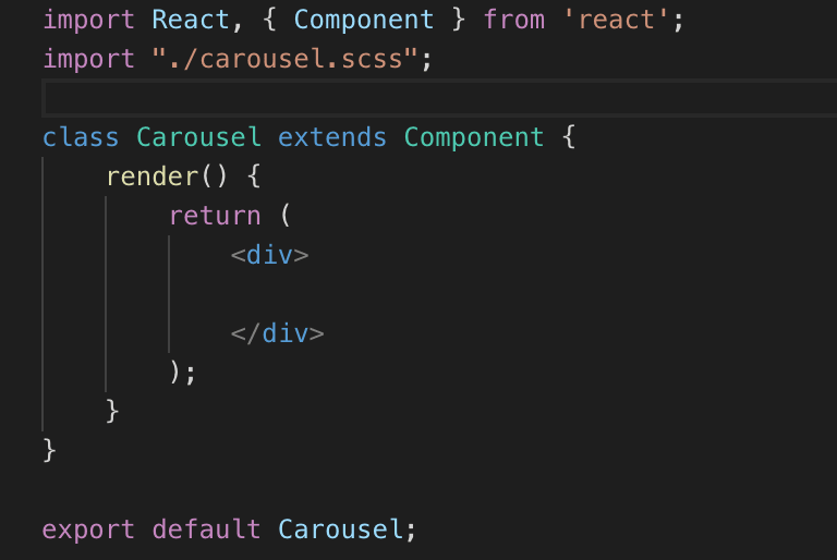 Basic component example