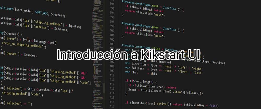 Cover image for Tutorial 2: Instalación de Kikstart UI
