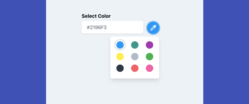 Cover image for Color Picker with AlpineJS and TailwindCSS