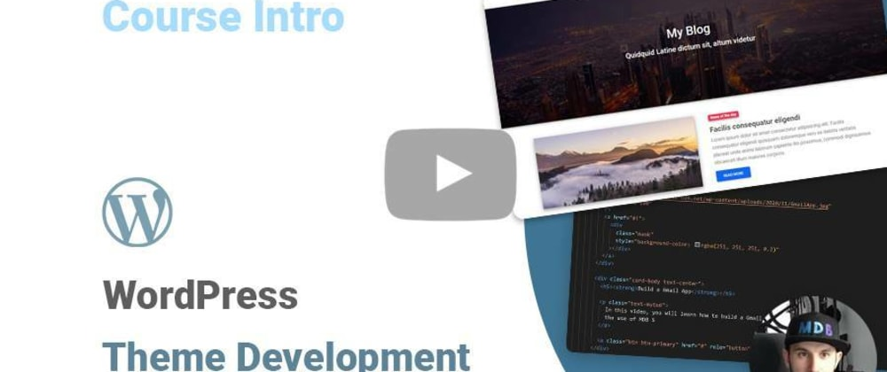 Cover image for WordPress Theme Development with the latest Bootstrap 5