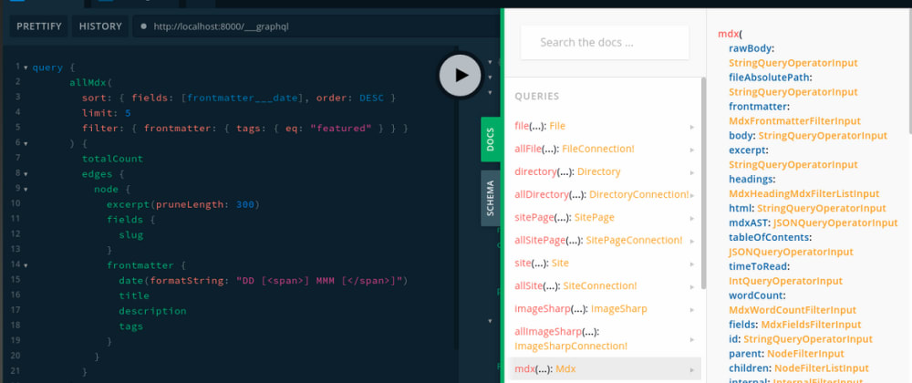 Cover image for Replace Graphiql With Graphql Playground Using These Simple Steps