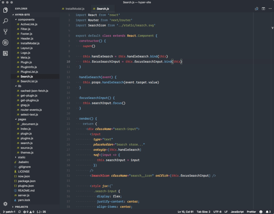 15 underrated VSCode Themes for a change in 2019