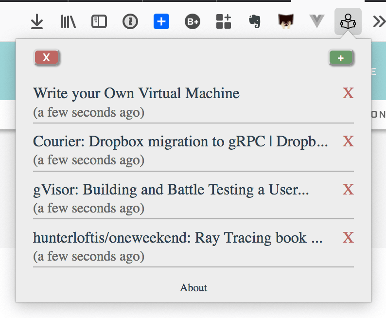 RelaxedReader — A Firefox Addon to Fight Reading Anxiety