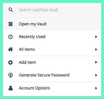 LassPass Screenshot