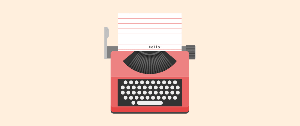 Cover Image for Animated no-element typewriter