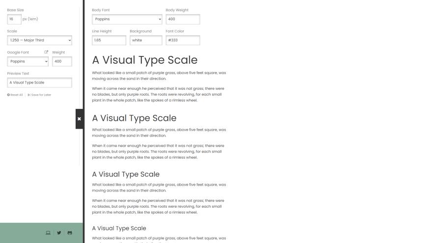 typescale