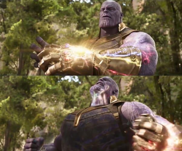 thanos feels the power
