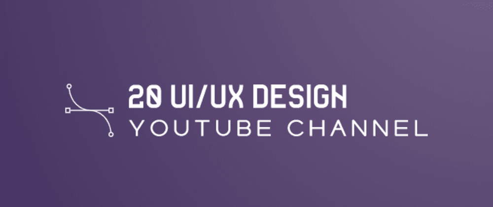 Cover image for Top 20 UI/UX Design YouTube Channel that you should follow