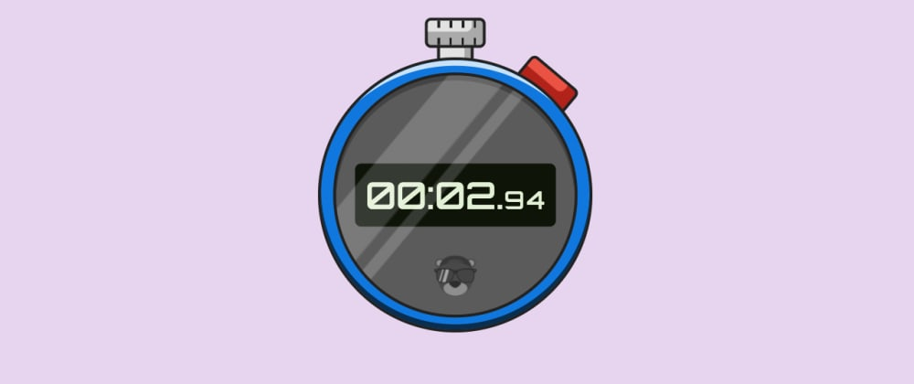 Cover image for Make a Functional Stopwatch with CSS – Exploring @property and its Animating Powers