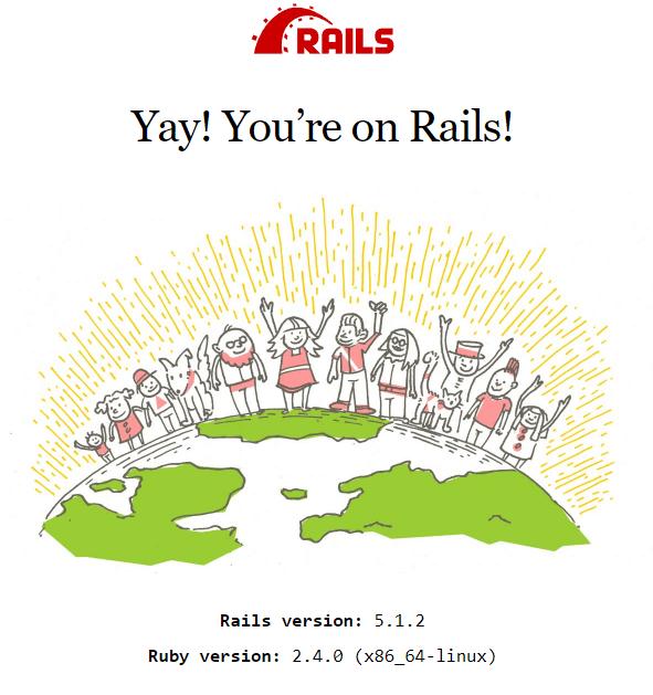rails success install