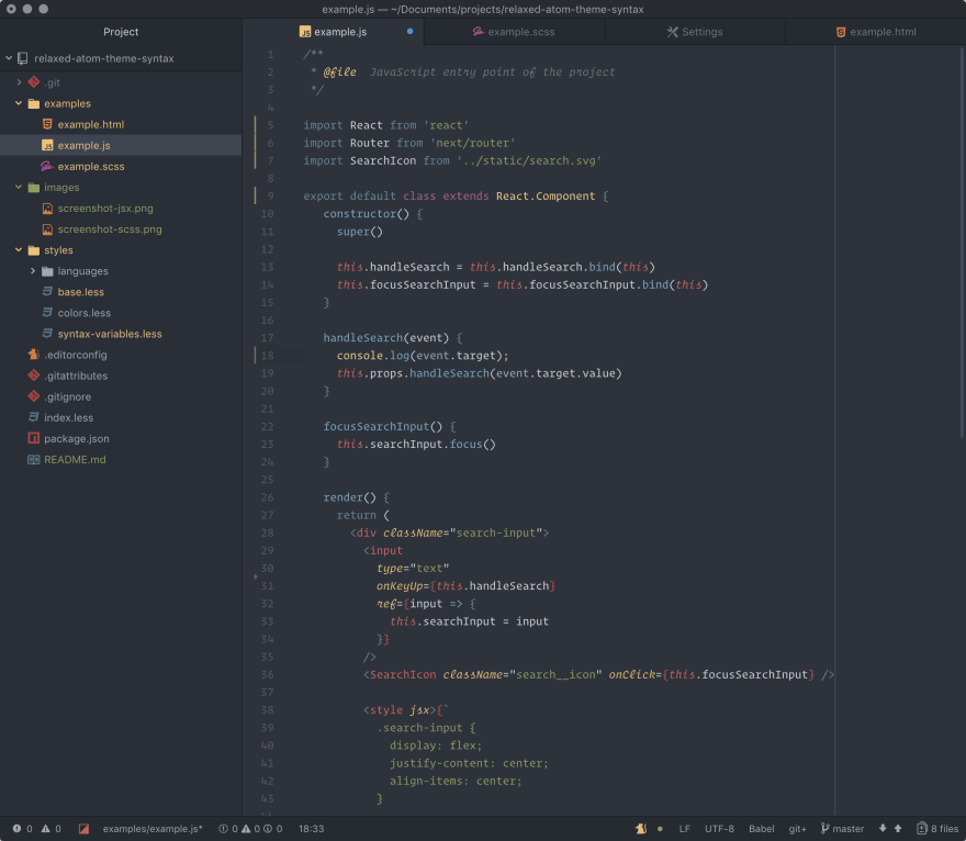 Introducing »Relaxed« – A cross platform terminal theme