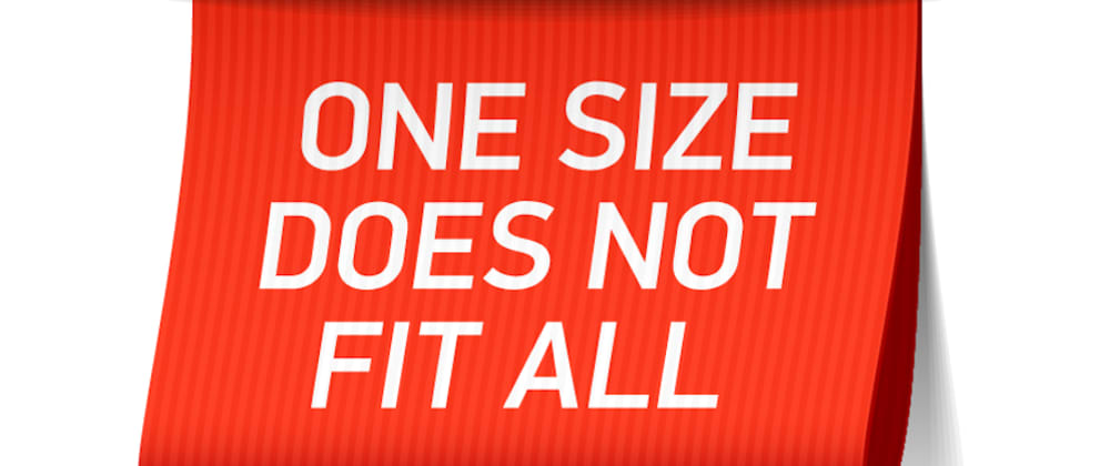 "Cover image for Collaboration doesn't come in ""One Size Fits All"""