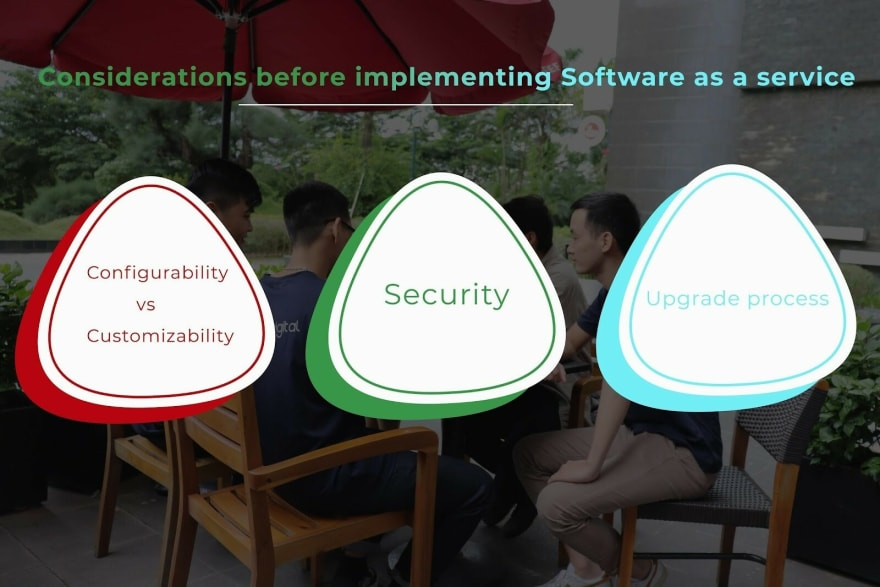 Software as a service solution
