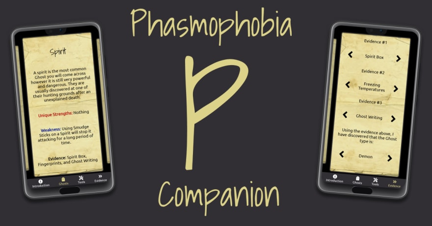 Phasmophonia Companion Promotional Image