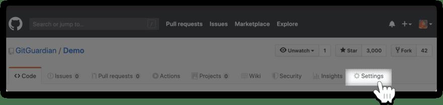 GitHub-setting