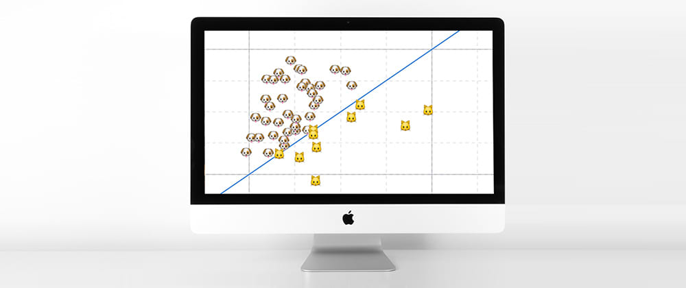 Cover image for How to create a JavaScript scatter plot (visualizing cat/dog popularity in the US)