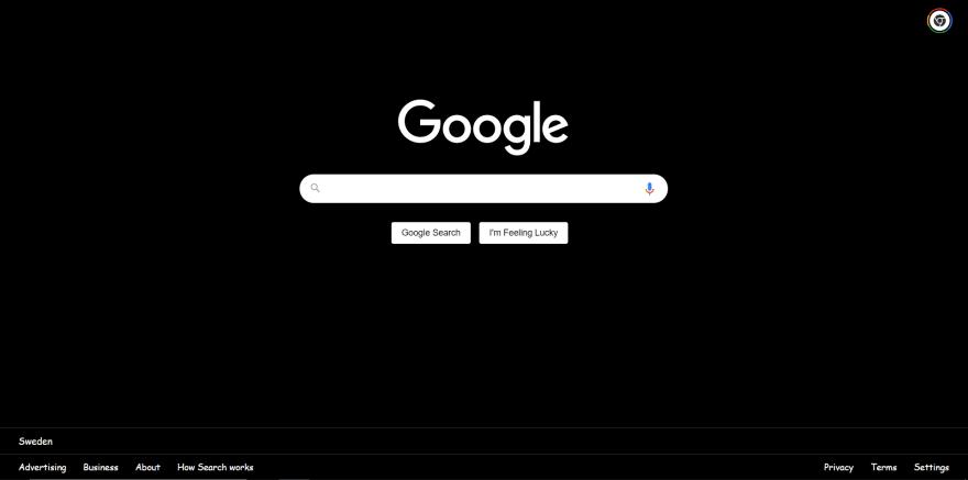 Custom styled Google