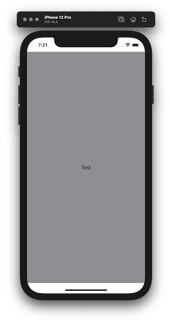 Text background color not extending safe area