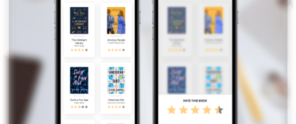 Cover image for Animated Book Star Rating in React Native