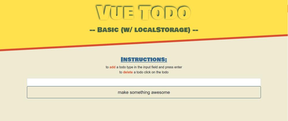 Cover image for Using localStorage API - Good idea? Bad idea? Thoughts?