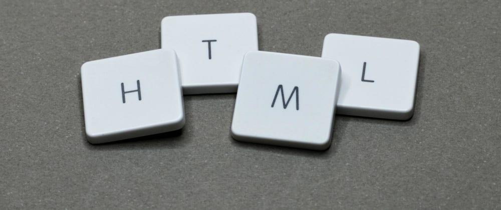Cover image for TAGs importantes para estruturar um pagina HTML.