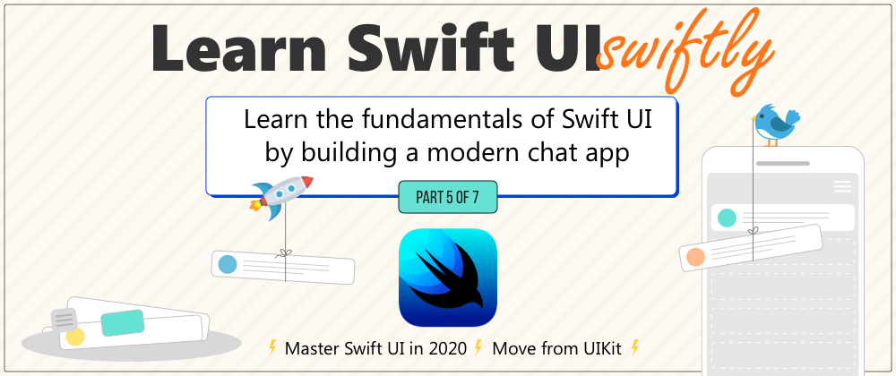 Cover image for Creating a chat screen in SwiftUI