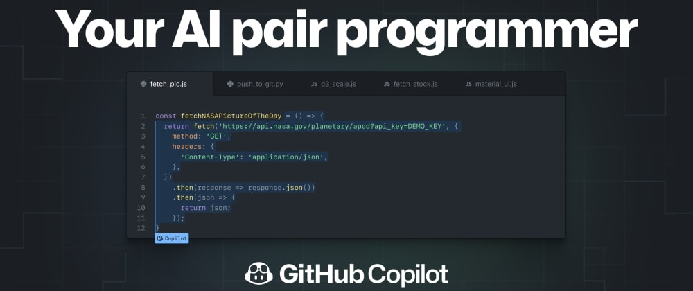 Cover image for GitHub has launched a new AI-based revolutionary tool on collaboration with OpenAI
