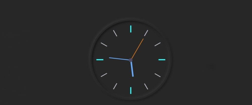 Cover image for Simple Analog Clock Using Html, CSS & Javascript