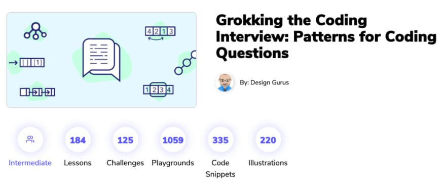 grokking the coding interview course screenshot