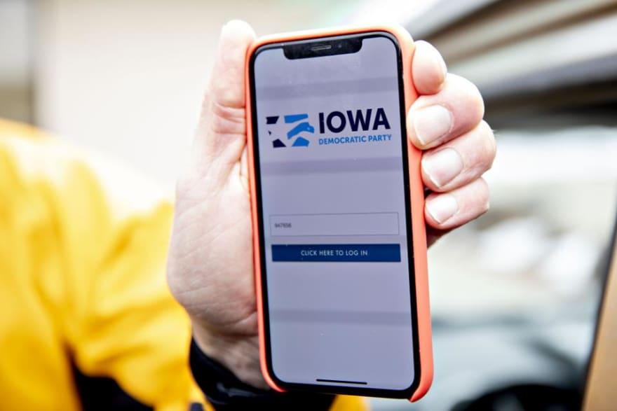 Iowa democratic party app