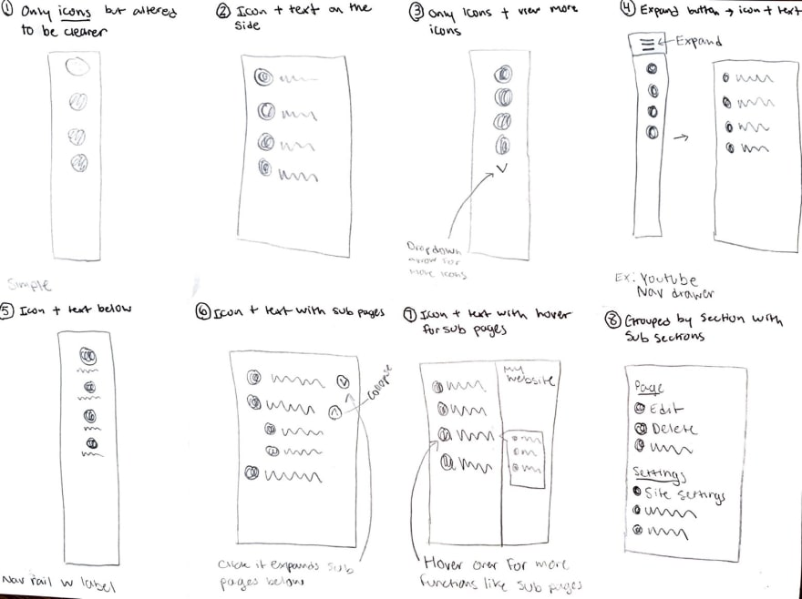 HAX Wireframes