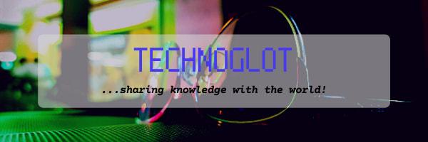 technoglot footer banner