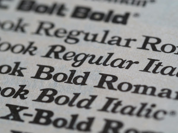 Image of Times New Roman font
