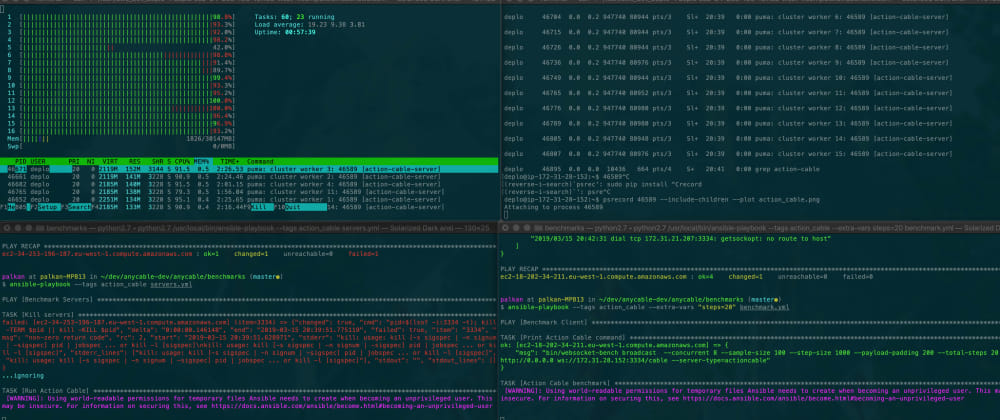 Cover image for Cables vs. malloc_trim, or yet another Ruby memory usage benchmark