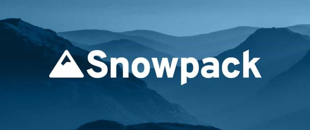Cover image for Should we replace webpack by 🗻 Snowpack 🗻?️